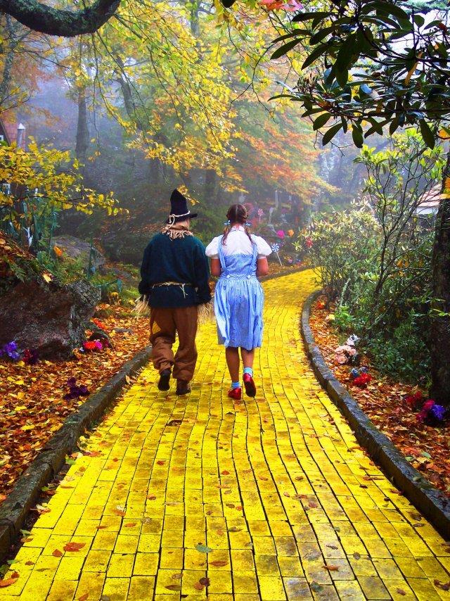 Wizard Of Oz Yellow Brick Road My Future Lies Beyond ...