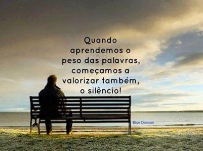 valorize o silencio